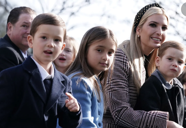 """Says @IvankaTrump #TogetherApart, """"I truly believe that as a nation, we will emerge from this stronger and more unified than ever before and individually and collectively rise to greater heights."""""""