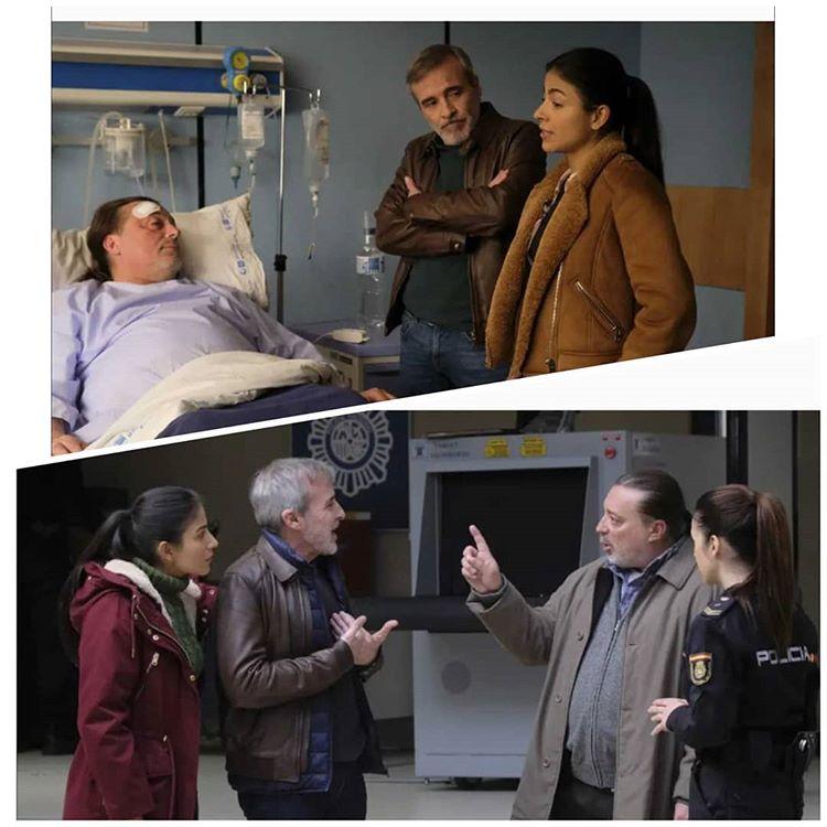 """Serie de televisión """"SERVIR Y  PROTEGER"""" en televisión Española TVE1 con el personaje """"EL PUAS""""  #siempreendirectoyconsimpatia #codigoespecial #serviryproteger @SyP_tve https://t.co/ClLHwwsjCI"""