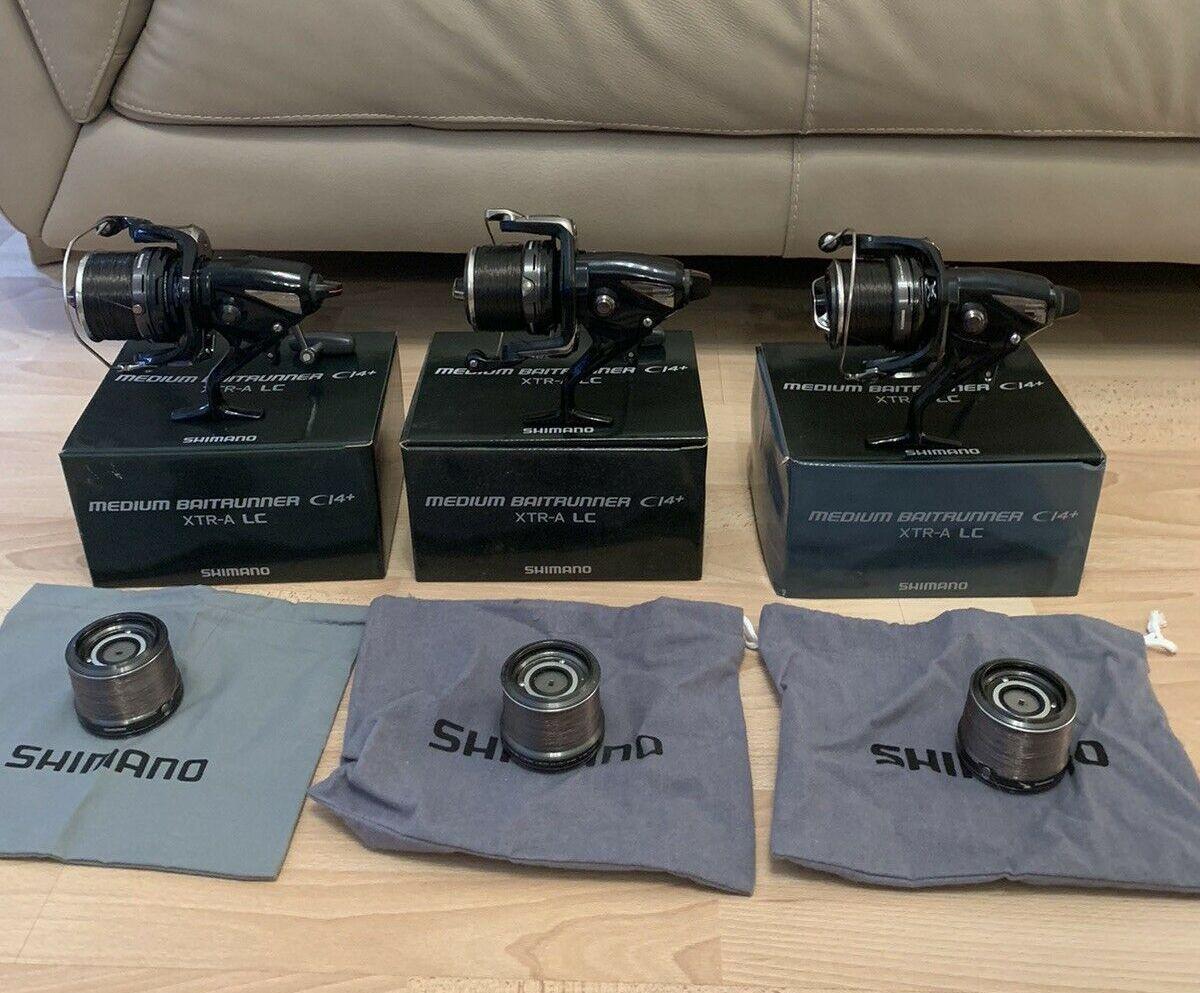 Ad - 3 X Shimano Medium Baitrunner Ci4 XTR-A LC On eBay here -->> https://t.co/39UsYCgjxb  #ca