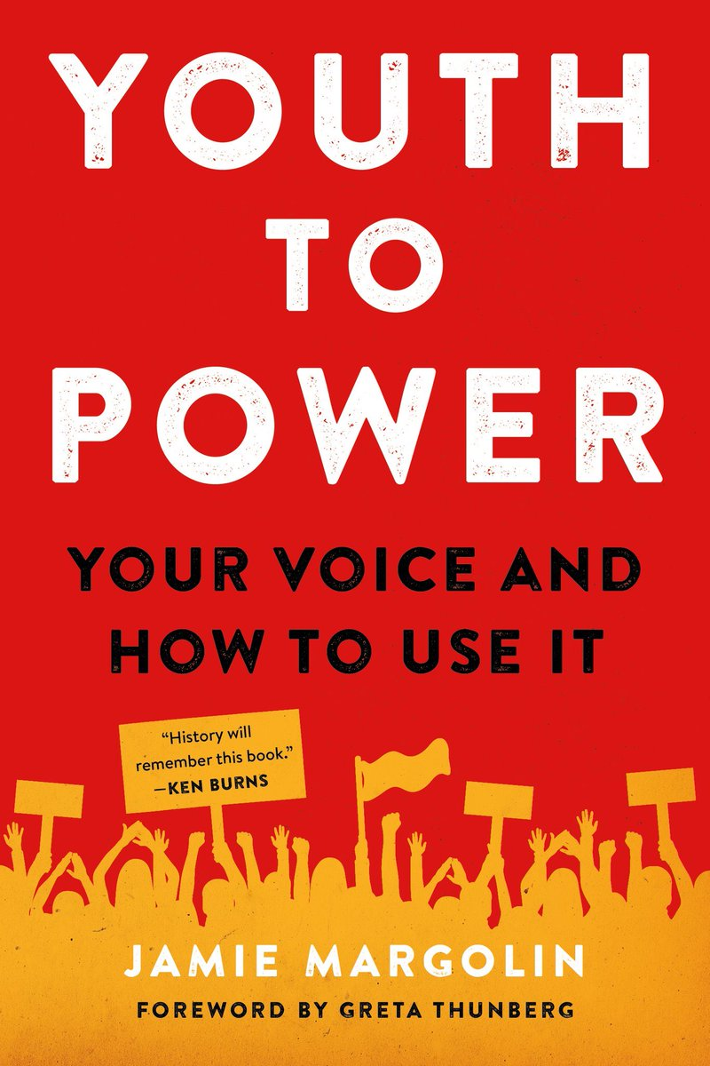 My name is Jamie, and I'm 18 years old.  I wrote a book that is an ultimate guide to being a young activist and organizer. It is the book I wished I had when I was first getting involved in activism.   Pre-order #YOUTHTOPOWER, it comes out June 2 2020👇🏼