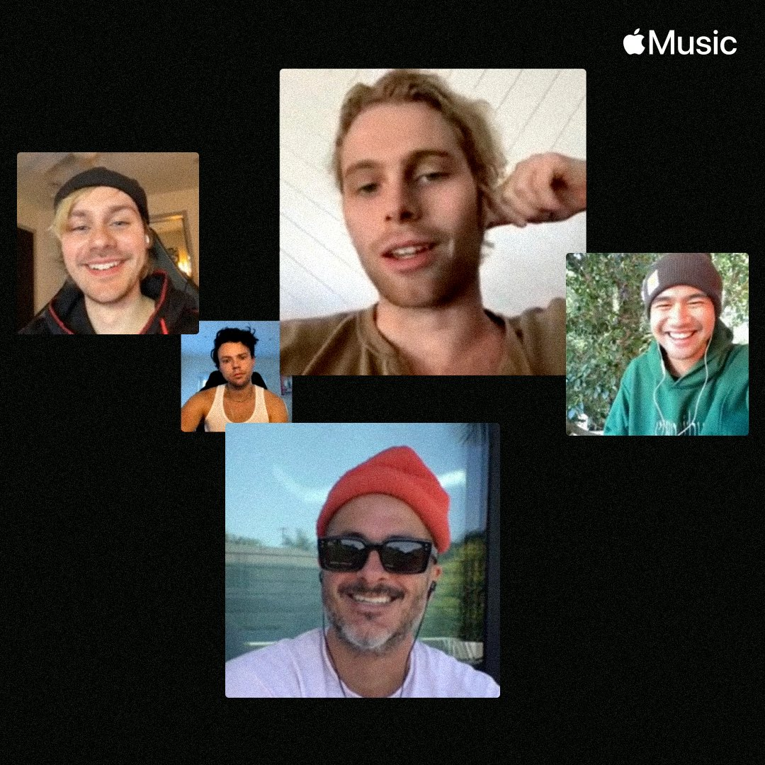 Thanks for FaceTiming with us @zanelowe. Watch it now on @applemusic.