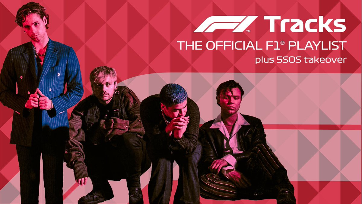 OFFICIAL @F1 PLAYLIST TAKEOVER // VIRTUAL GP // LISTEN HERE  #VIRTUALGP
