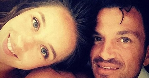 Peter Andre still sleeps next to doctor wife Emily thanks to two-metre wide bed