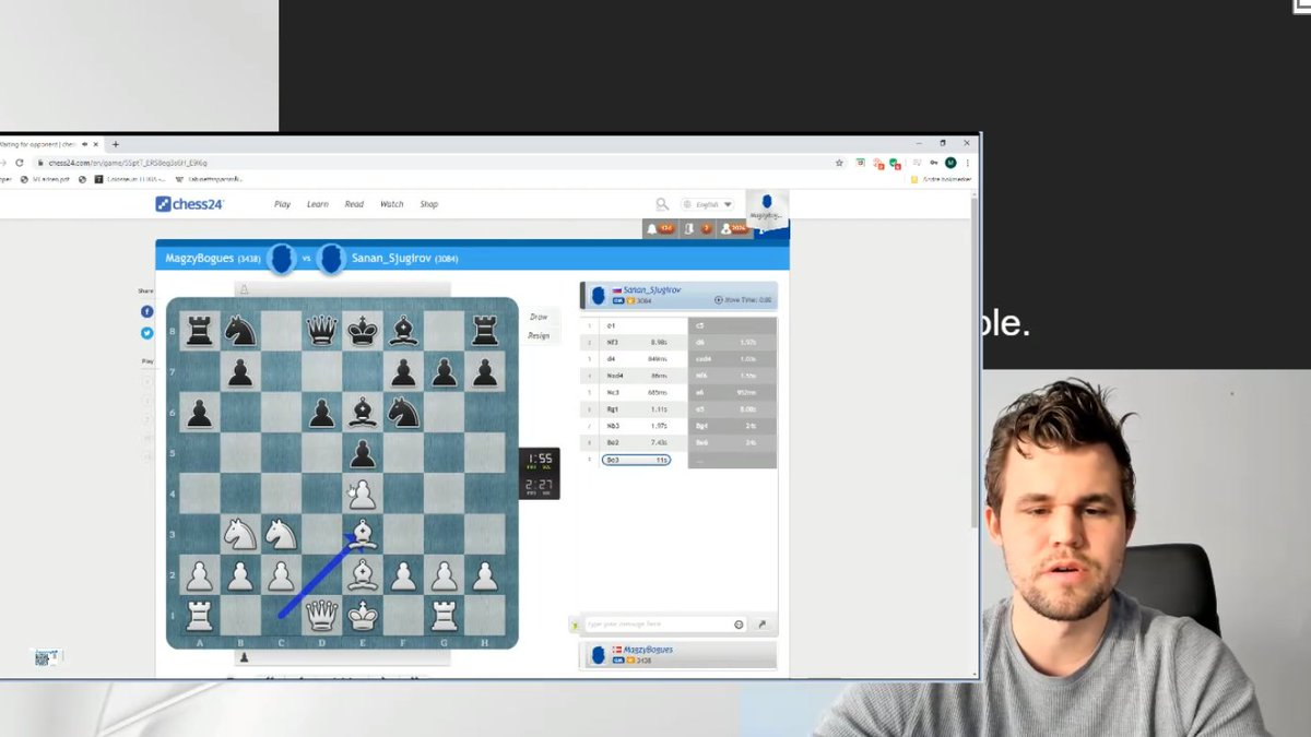 test Twitter Media - Magnus is LIVE now playing for a place in the #BanterBlitzCup final! https://t.co/Ffditrl2QC  #c24live https://t.co/p42ApkocUR