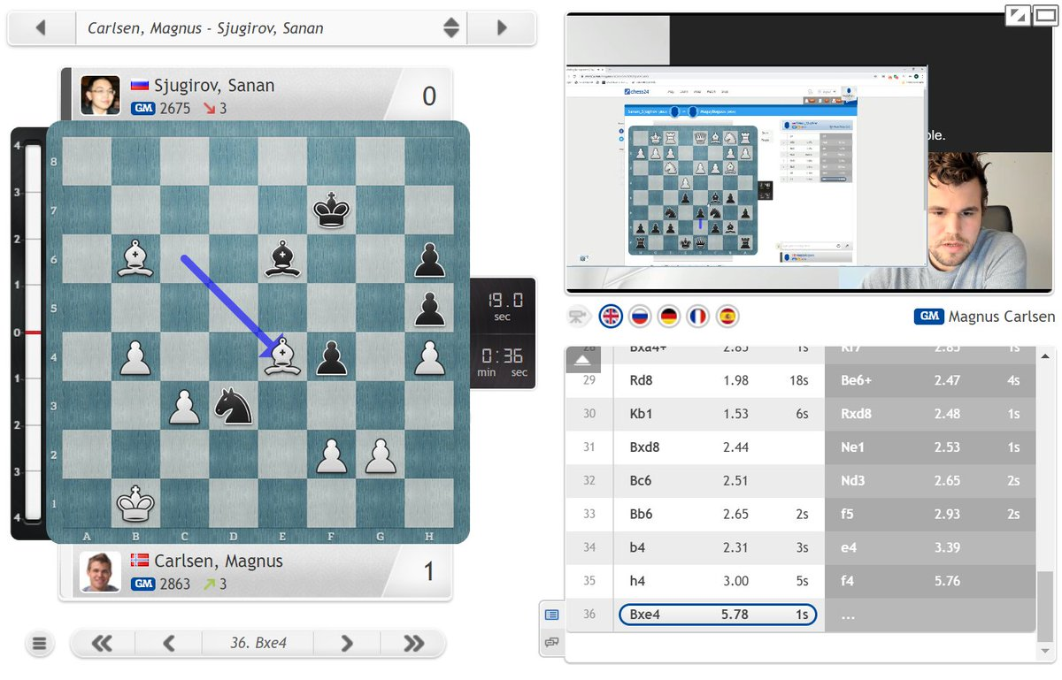 "test Twitter Media - ""I'm feeling pretty optimistic about my chances"" says Magnus as he moves to 7:0! https://t.co/1VHg7AnXIm #c24live #BanterBlitzCup https://t.co/mMI5ds0eGK"