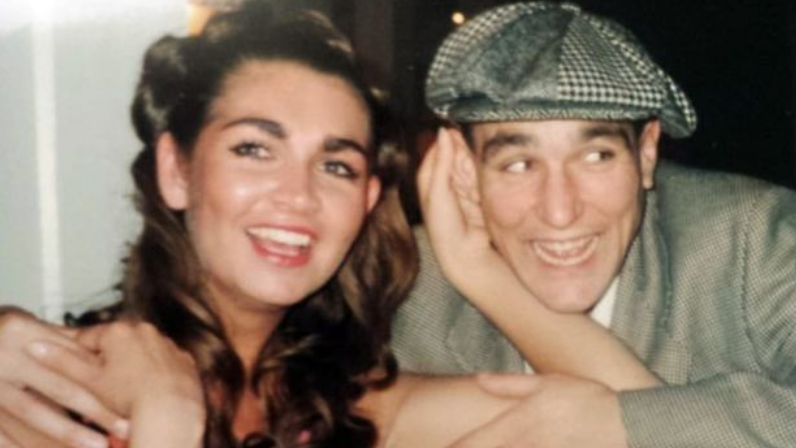 Vinnie Jones marks seven years since quitting booze with sweet picture of late wife Tanya