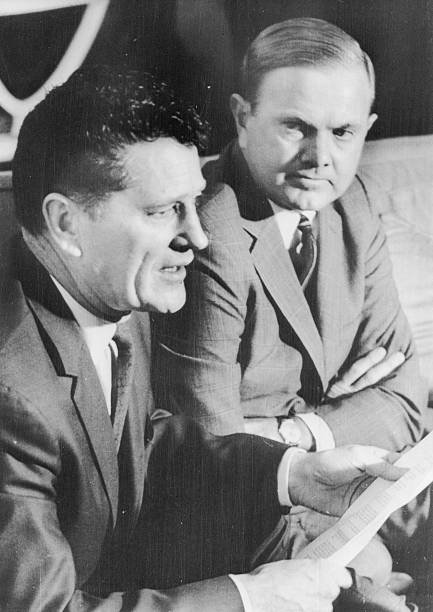 On April 7, 1966  AFL Commissioner Joe Foss resigned.  AFL President Ralph Wilson was at his side as Foss read a statement to the press.