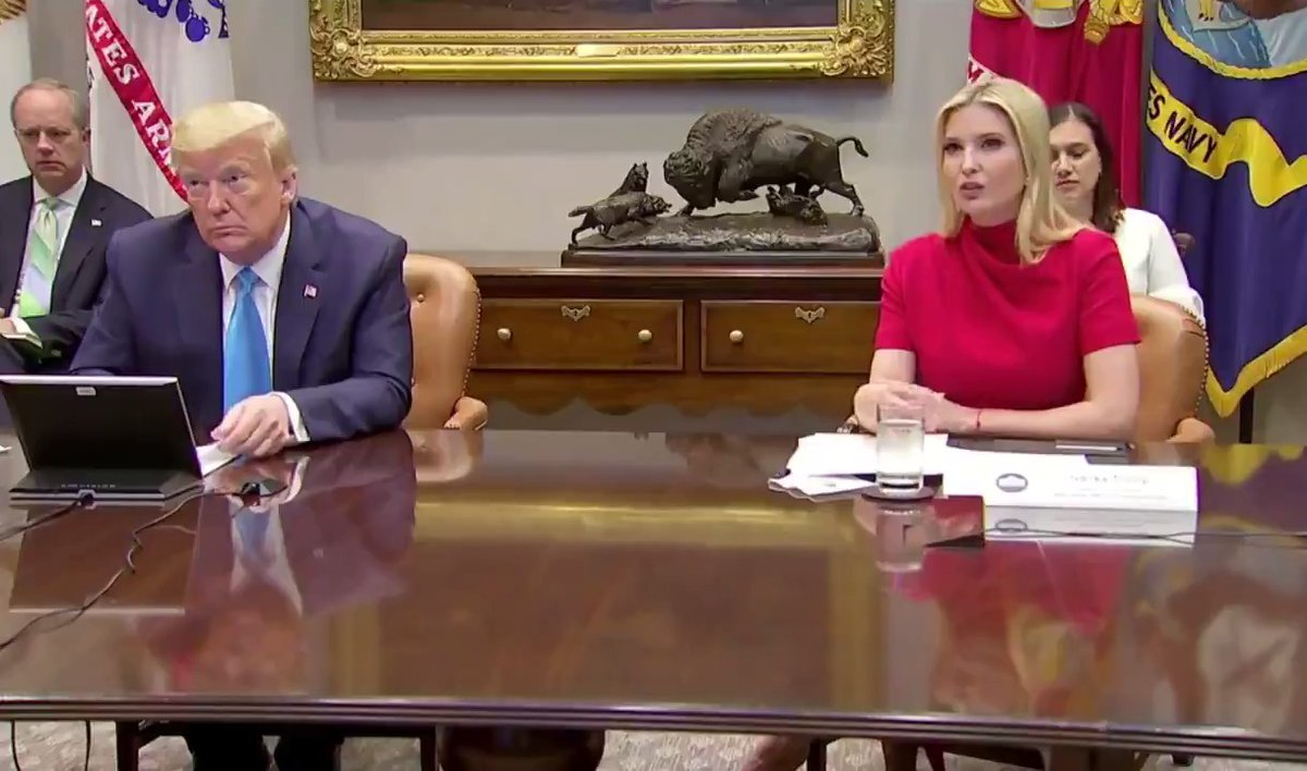 """.@IvankaTrump to President @realDonaldTrump: """"Anyone who knows you knows the heart you have for America's small businesses."""""""