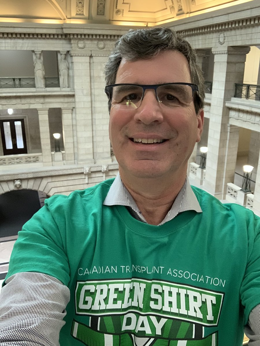 test Twitter Media - Today is #GreenShirtDay in honour of Logan Boulet. Become an organ donor today, and https://t.co/nhYvi3FTYj @TransplantMB #LoganBouletEffect! 💚💛 #HumboldtStrong. https://t.co/SuFY5HdP1X