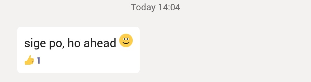 Best work-related message so far lol