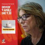 🦠⚙️ #Coronavirus Domani, giovedì 9 aprile, @RedavidF dalle ore 9.30 sarà ospite di @CoffeeBreakLa7! 📺 https://t.co/NnAsV22qGh