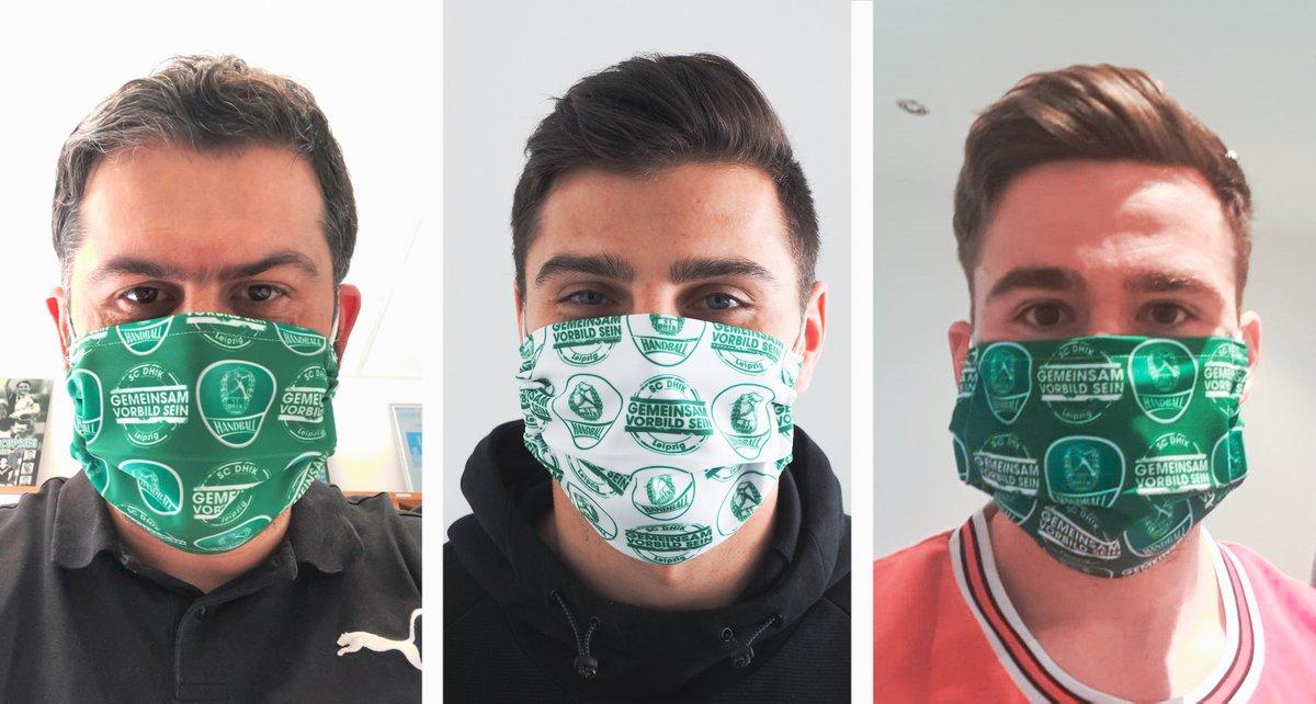 +++NEU+++ 😷 Beim Umgang mit den Herausforderungen durch das Coronavirus gehen wir weiter mit gutem Beispiel voran und haben hochwertige SC DHfK Gesichtsmasken in unser Fanshop-Sortiment aufgenommen!  ➡ https://t.co/eAD0bA49ck 💚#GemeinsamVorbildSein https://t.co/782Kr54s0Q