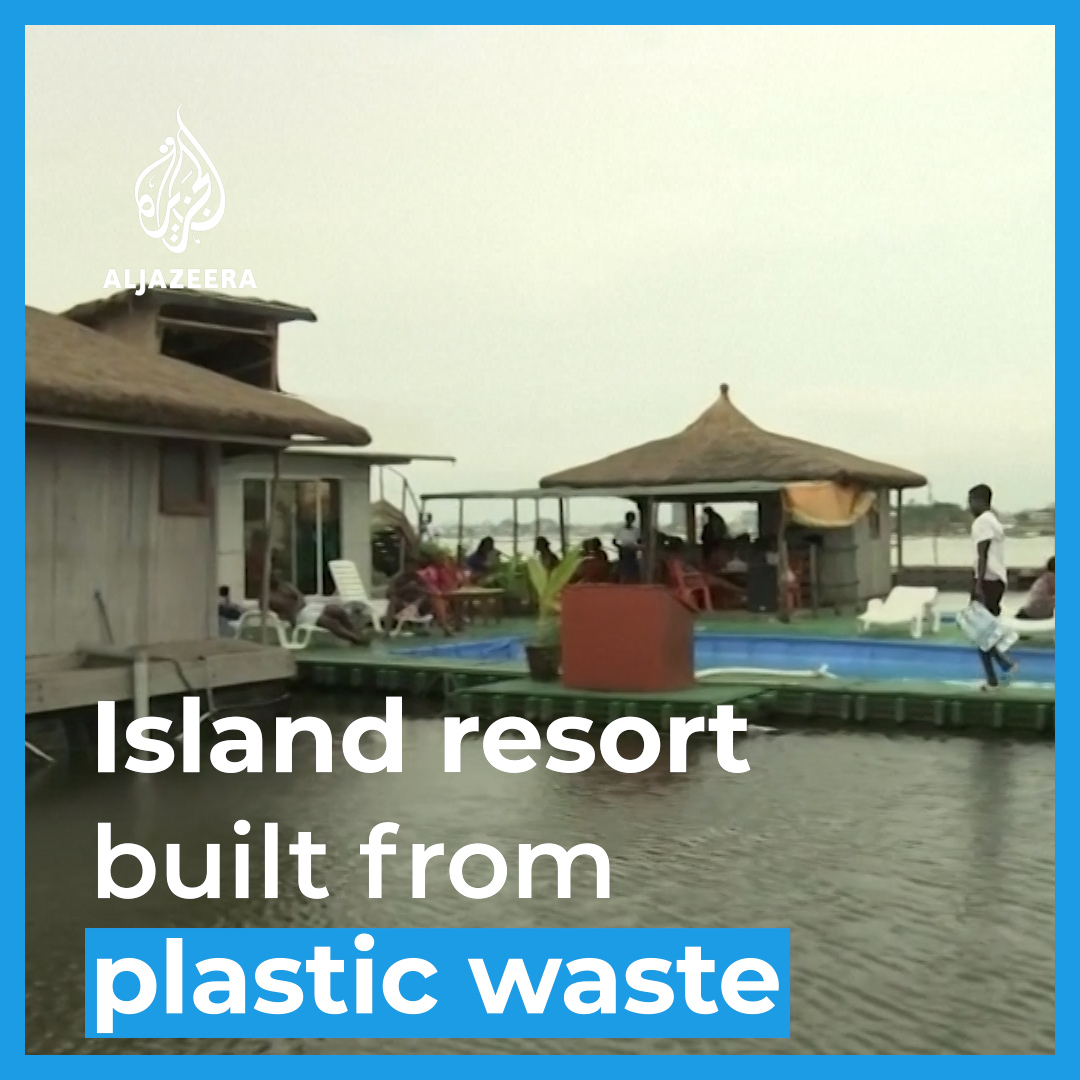 Entrepreneur builds an island resort that floats on 700,000 plastic bottles off the Ivory Coast. https://t.co/2wkukstFOu