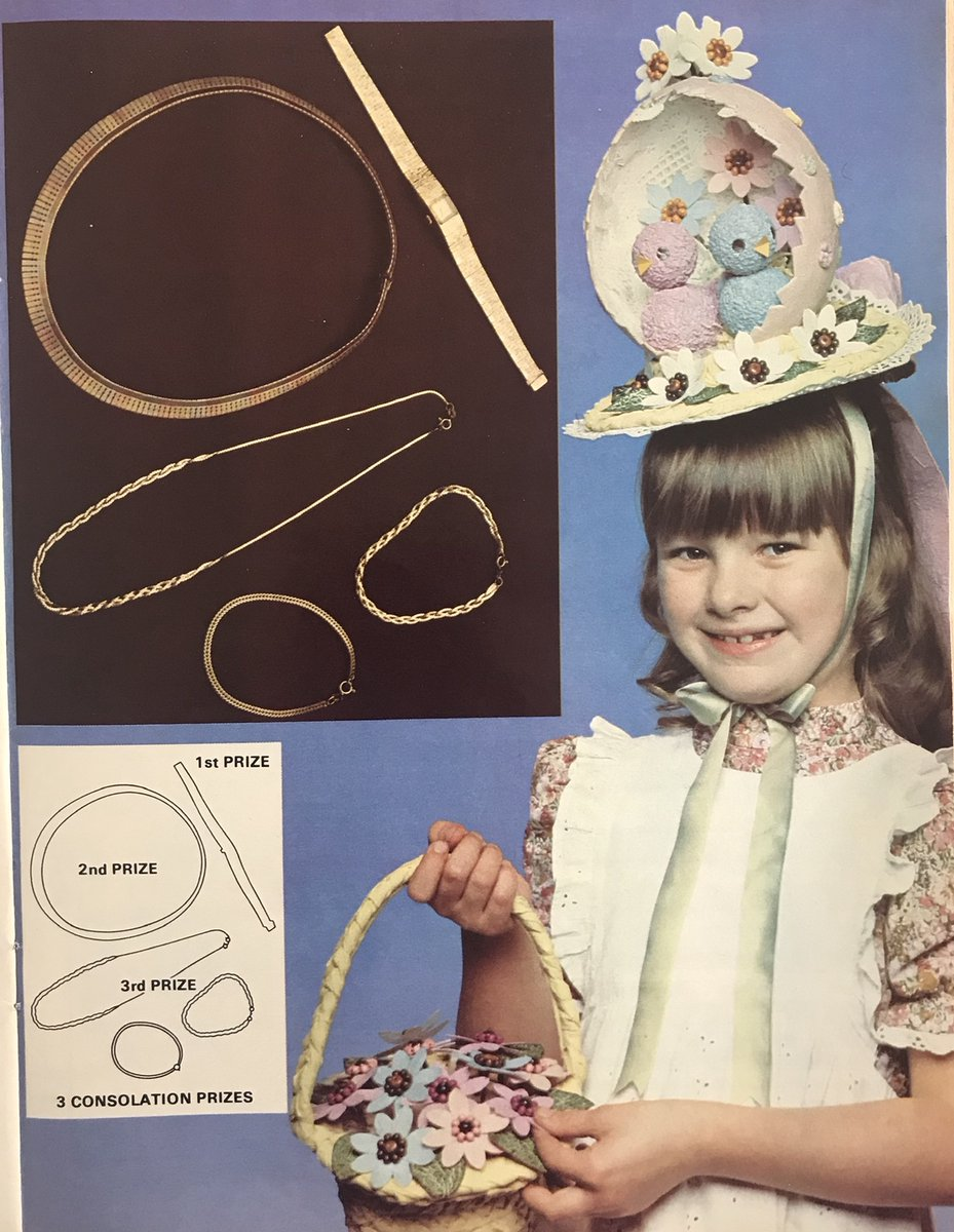 Happy Easter People! @wonderfulcrafts  #1970s #crafts #theboylesisters