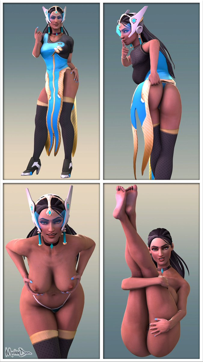 It's always irked me that I had no proper Symmetra model to play with in SFM. I only ever found one version & it's not the best. So I decided to Thanos it & by that I mean do it myself, not kill everyone. #Rule34 #MasterDan #MasterDansDojo