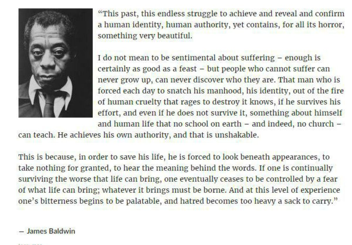 @BenjaminPDixon Yes.  And for those who still shout VBNMW, some Baldwin: