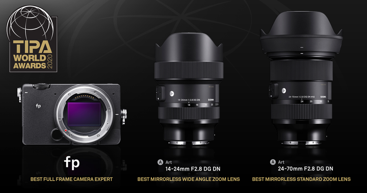 RT @Sigma_Photo: SIGMA is proud to announce that it has received three TIPA World Awards for the SIGMA fp (Best Full Frame Camera Expert),…