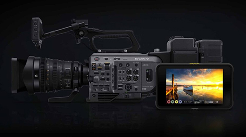 #ATOMOS brings RAW recording to he #SONY PXW-#FX9