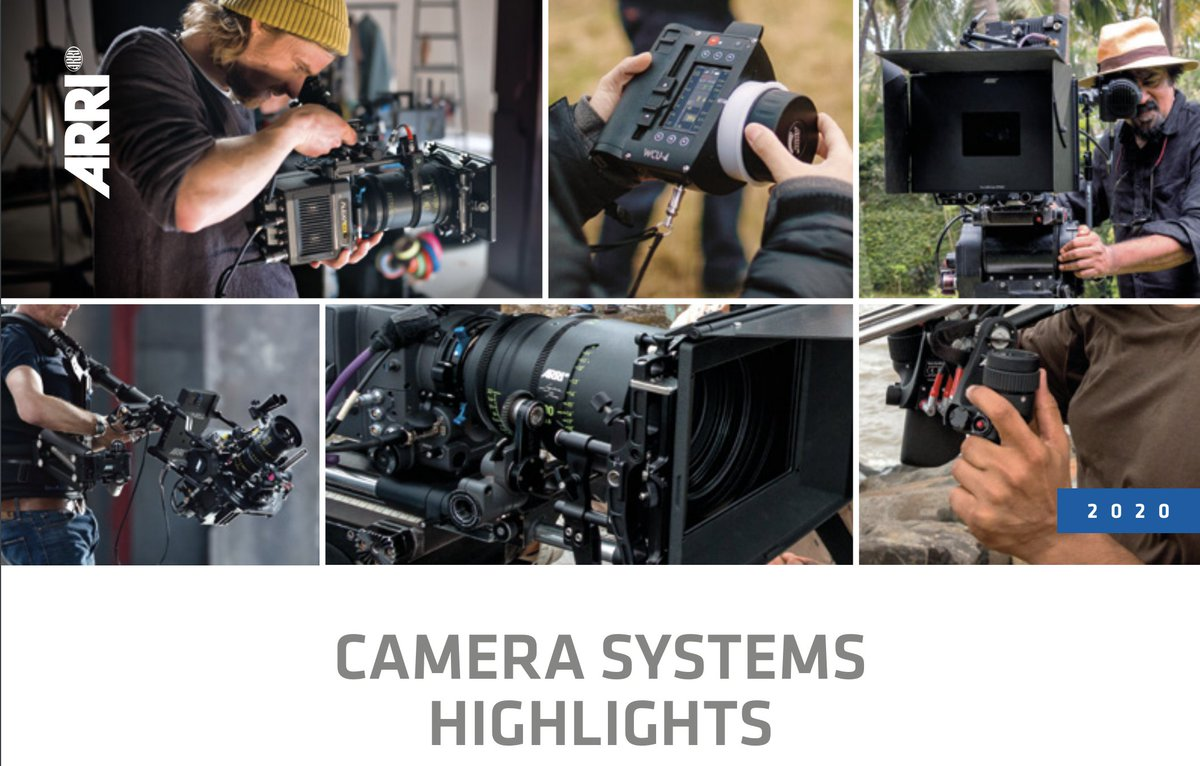 RT @ARRIChannel: Explore ARRI´s new Camera Systems Brochure 2020! Learn more about ARRI´s entire line of camera systems - a complete ecosys…