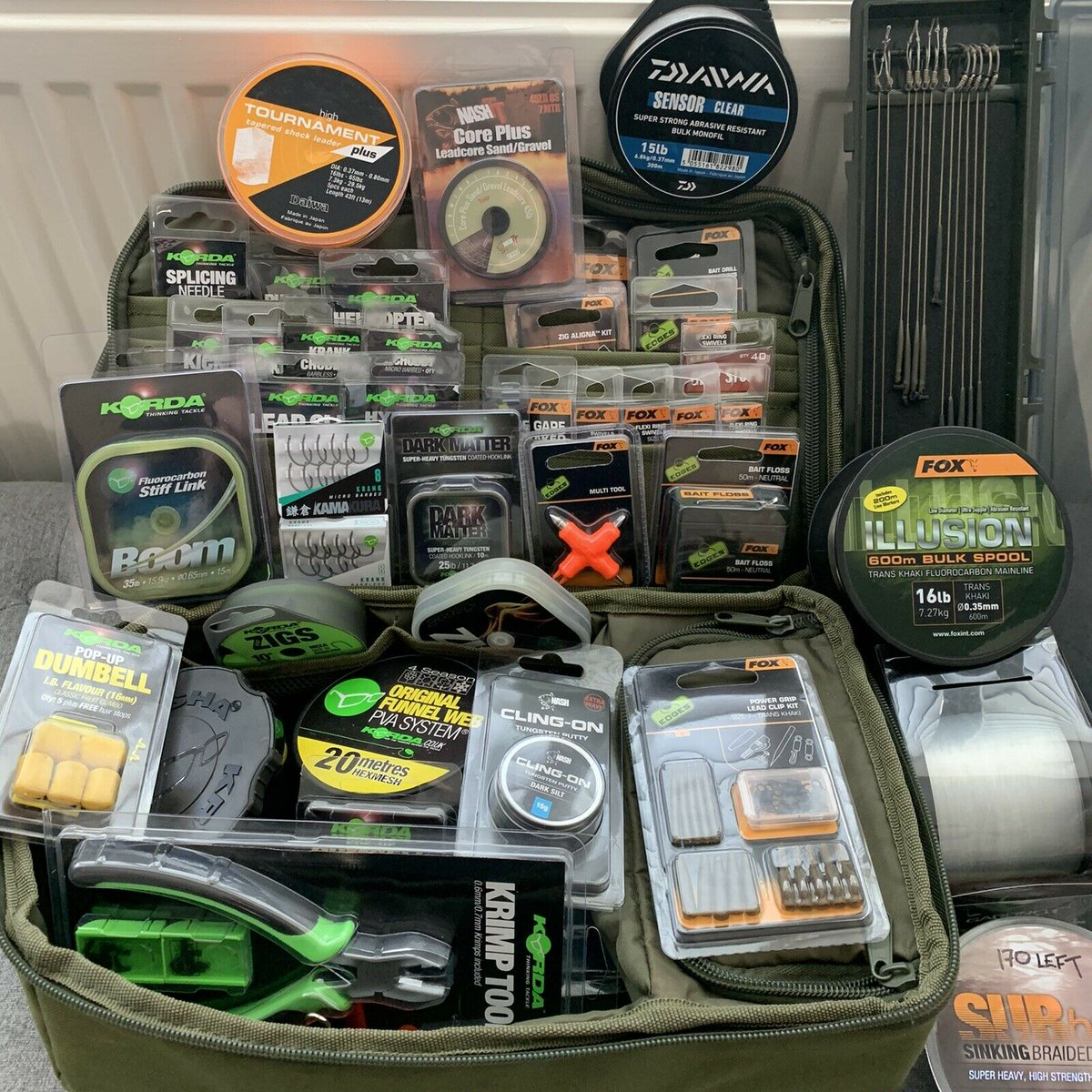 Ad - CARP TERMINAL TACKLE BUNDLE  On eBay here -->> https://t.co/0saX7cvDuK  #carpfishing http