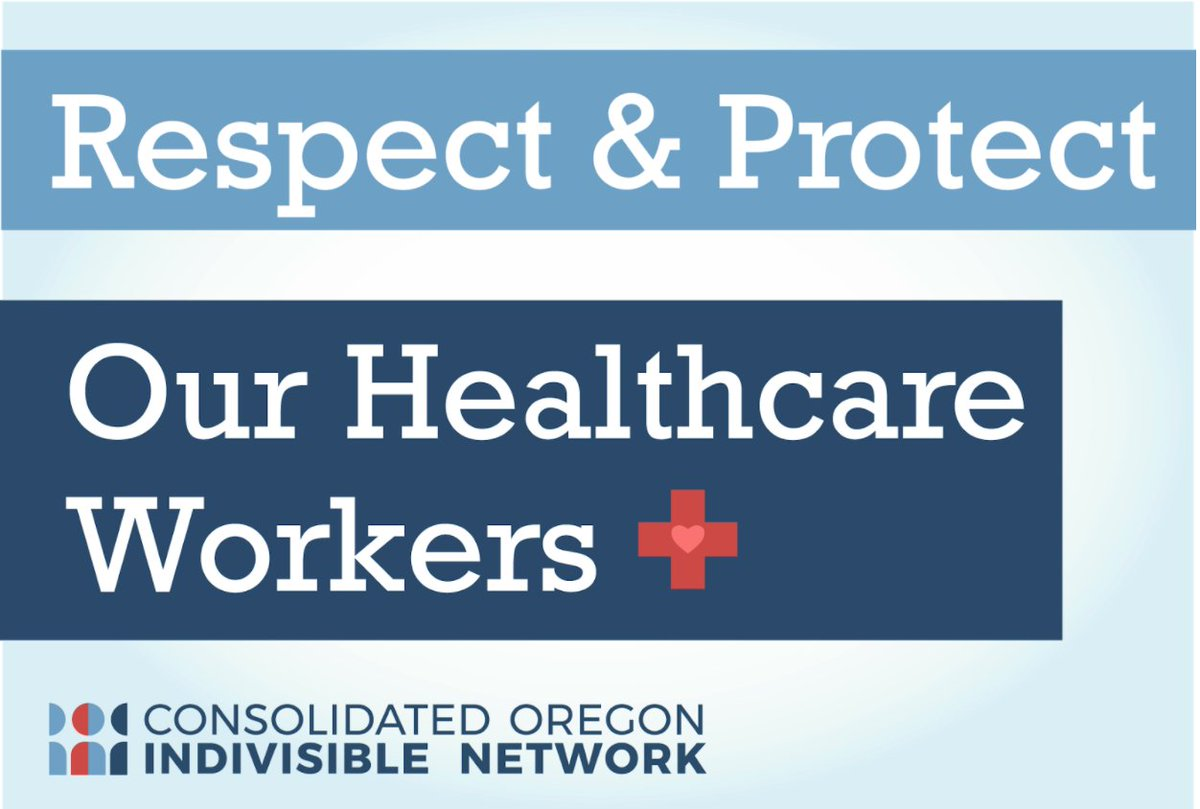 Let's protect our healthcare workers, our police, firefighters, medics, sanitation workers, janitors, grocery store and delivery workers, and all the people who are keeping our infrastructures running. #ProtectHealthCareWorkers #StayHomeSaveLives