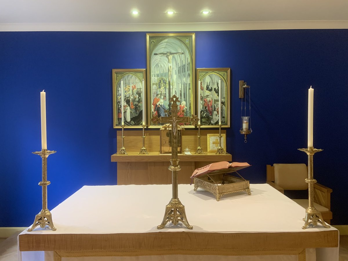 test Twitter Media - Just offered Mass in honour of St Louis Grignion de Montfort. We wish a Happy Feast Day to the Montfort Missionaries and to the Daughters of Wisdom in our Diocese in Ashurst and in Romsey! https://t.co/Voao03I8UP