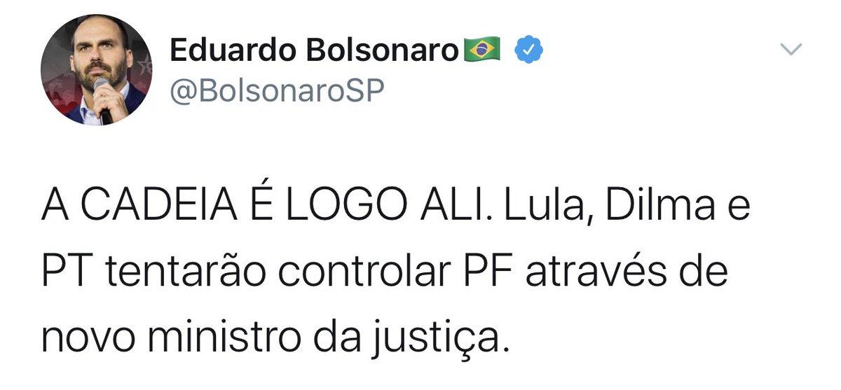 A CADEIA É LOGO ALI. Jair Bolsonaro e os filhos tentarão controlar a PF através do novo ministro da justiça.