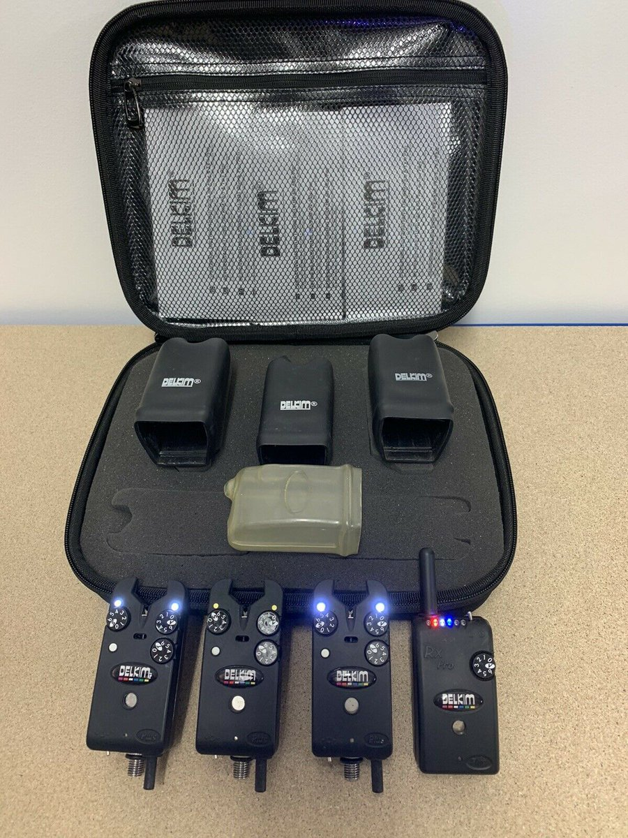 Ad - Delkim TXi Plus bite alarms (white) & Receiver On eBay here -->> https://t.co/zElt3s3