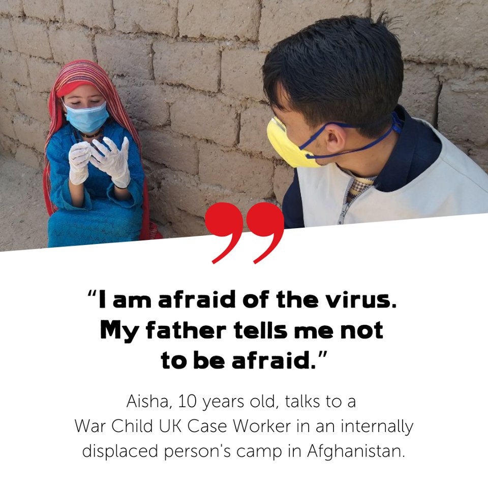 For children like Aisha living in conflict zones, Coronavirus is a deadly threat. This #GivingTuesday, you can help us to be there for more children like Aisha by donating to our Coronavirus Crisis Appeal. Thank you 🖤