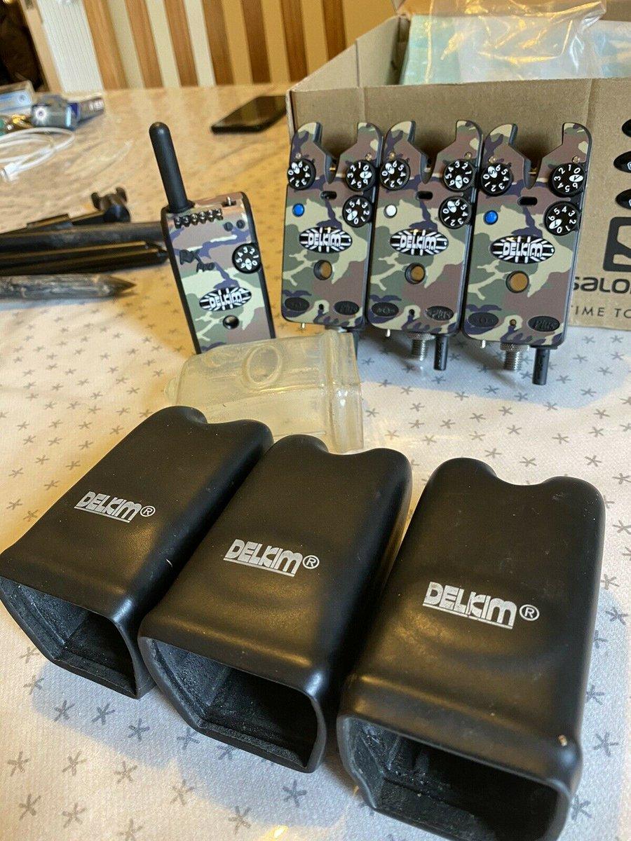 Ad - Delkim TXi Plus bite alarms x3 & Receiver On eBay here -->> https://t.co/qOwr3YeDxS