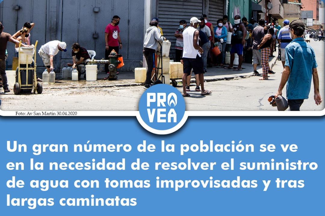 A pesar de que el Programa Mundial de Alimentos afirma que 96% de las familias en Venezuela tienen acceso al agua, miles de venezolanos deben salir a diario a buscar el suministro del líquido por todas las vías posibles. ¿Y tú? ¿Eres del 96% con agua? https://t.co/zFavMASFhs
