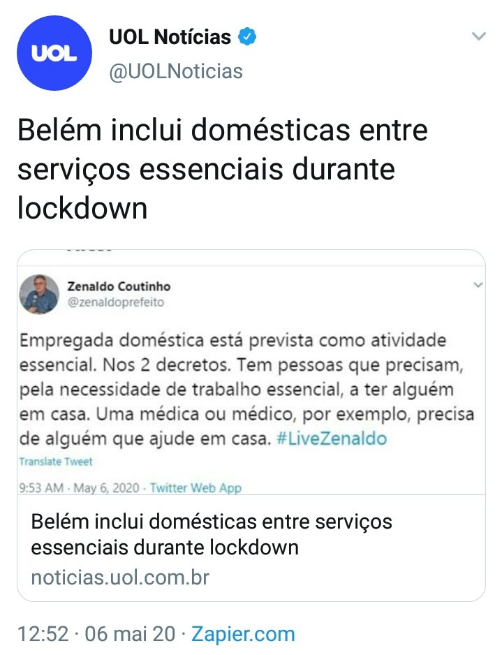 Duas notícias para entender o Brasil