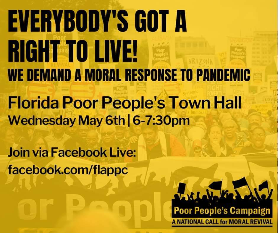 End the disenfranchisement and discrimination Hear our stories @FLRightsRestore #EverybodysGotARightToLive @UniteThePoor @BRepairers #PoorPeoplesTownHall