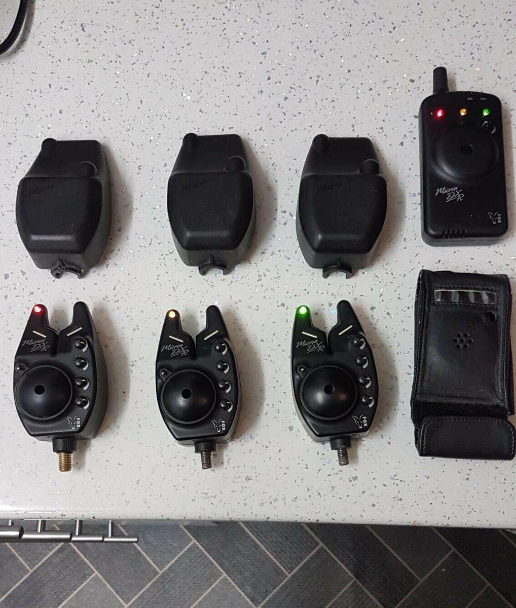 Ad - 3 x Fox DXR Micron bite alarms & <b>Receiver</b> On eBay here -->> https://t.co/gQ5Uj