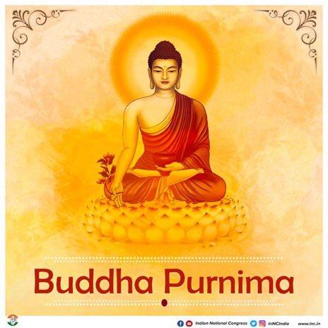 समस्त देशवासियों को बुद्ध पूर्णिमा के पावन अवसर पर हार्दिक बधाई एवं शुभकामनाएं।  My best wishes & greetings to each & every one of you, on the joyous occasion of Buddha Purnima.    #बुद्ध_जयन्ती