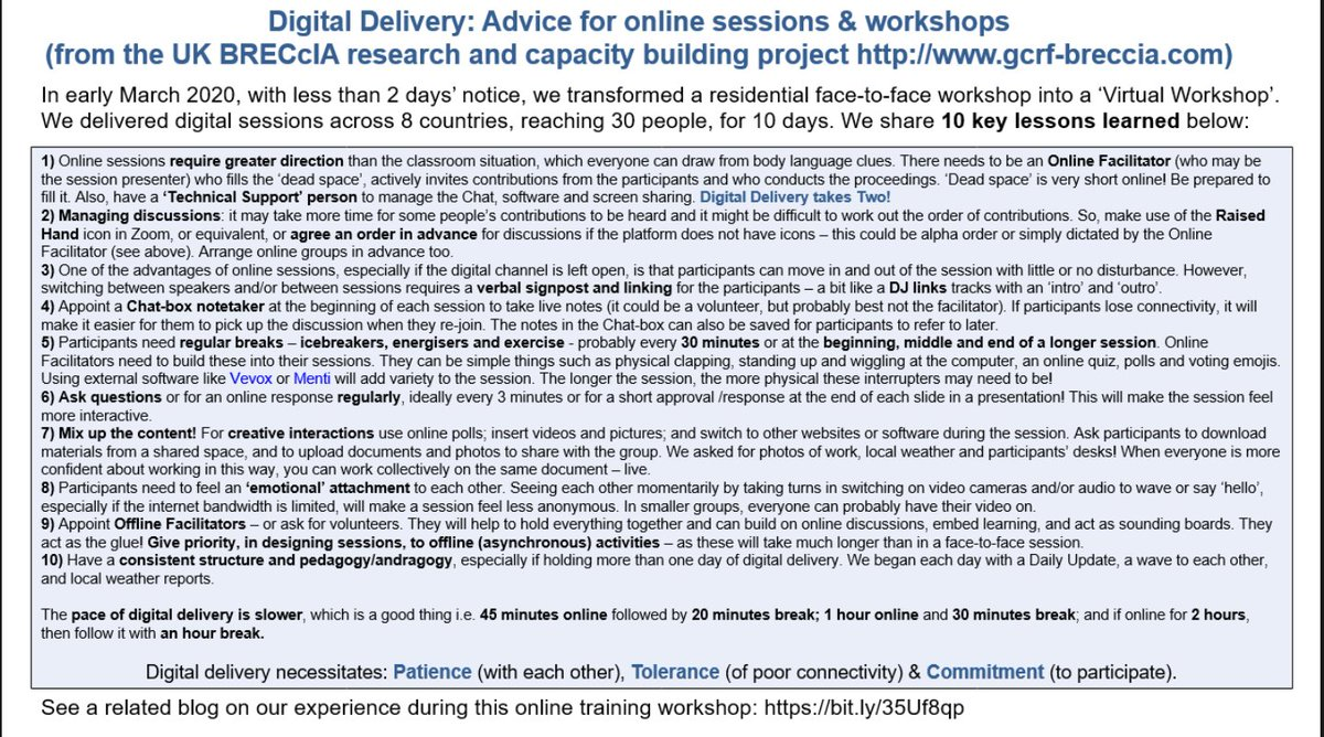 test Twitter Media - One slide, 10 key lessons for #Digitaldelivery:  Feel free to save or share our slide, forged from the experiences of our 2-week #brecciavirtualworkshop https://t.co/ijZQts1Il2