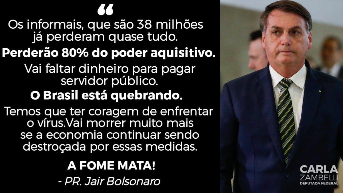 E aí, Senhores Governadores?   O #BrasilNaoPodeParar
