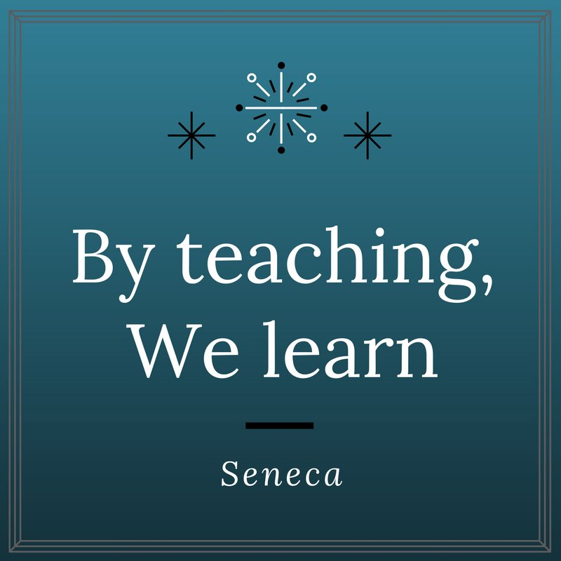 """""""Docendo discimus""""  """"by teaching, we learn"""", attributed to Seneca the Younger 2,000 years ago, still holds true today @DrHowardLiu @AtulGroverMD #surged #MedEd #MedStudentTwitter @arghavan_salles @cornue"""