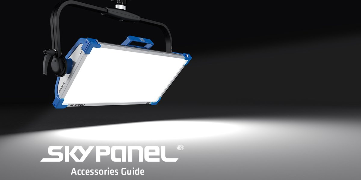 RT @ARRIChannel: We just updated our #SkyPanel Accessories Guide for 2020. New additions include the DoPchoice Eyelights for Octa 4, the Ce…