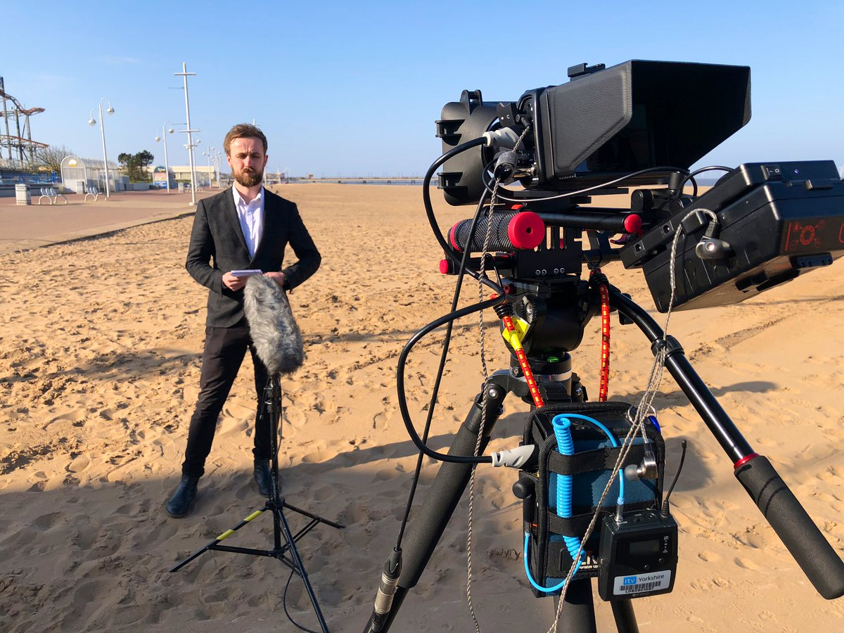 test Twitter Media - Join @JonnyBrownYorks #live from  #skegness beach for @itvcalendar at 6, as he talks about the warnings over the bank holiday lock down. @LiveU https://t.co/n1hnWn37DR