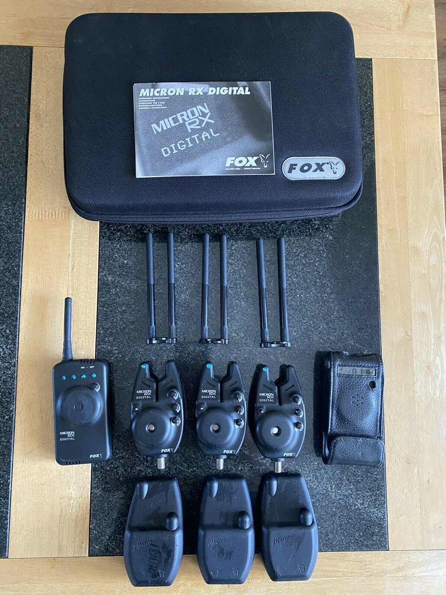 Ad - Fox Micron RX Alarms, Receiver And Extras On eBay here -->> https://t.co/cP639B8ARr  #car
