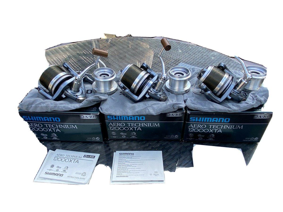 Ad - 3x Shimano Technium 1200 XTA On eBay here -->> https://t.co/Qm1ydwerrf  #carpfishing http