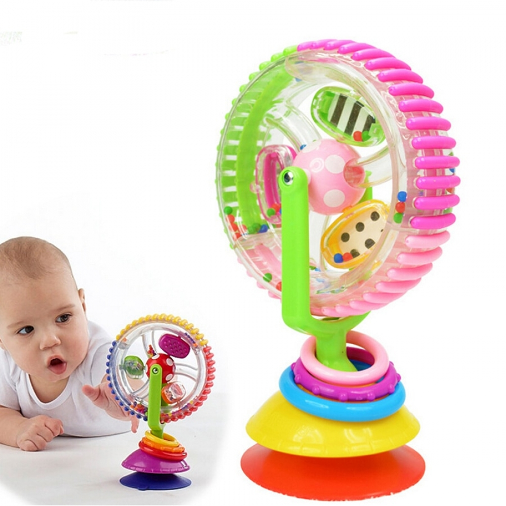 #deluxe #luxury #design Baby Toy Multi Color Rotating Windmill...