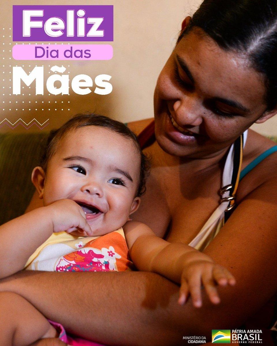 Um Feliz dia a todas as mamães do Brasil!