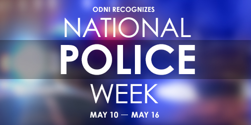 To all law enforcement officers, both past and present, we thank you. #NationalPoliceWeek
