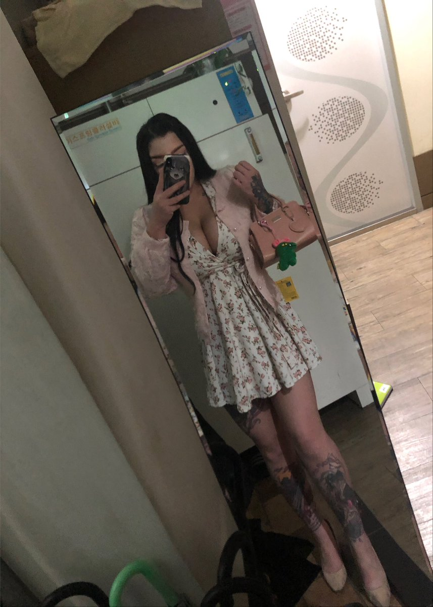Hi this is my favourite fit from Korea. 🌸  #OOTD #cute #curvy #curves #korea #busty #tattoos #anime #ink #seoul #OnlyFansPromo #onlyfans #onlyfansgirl