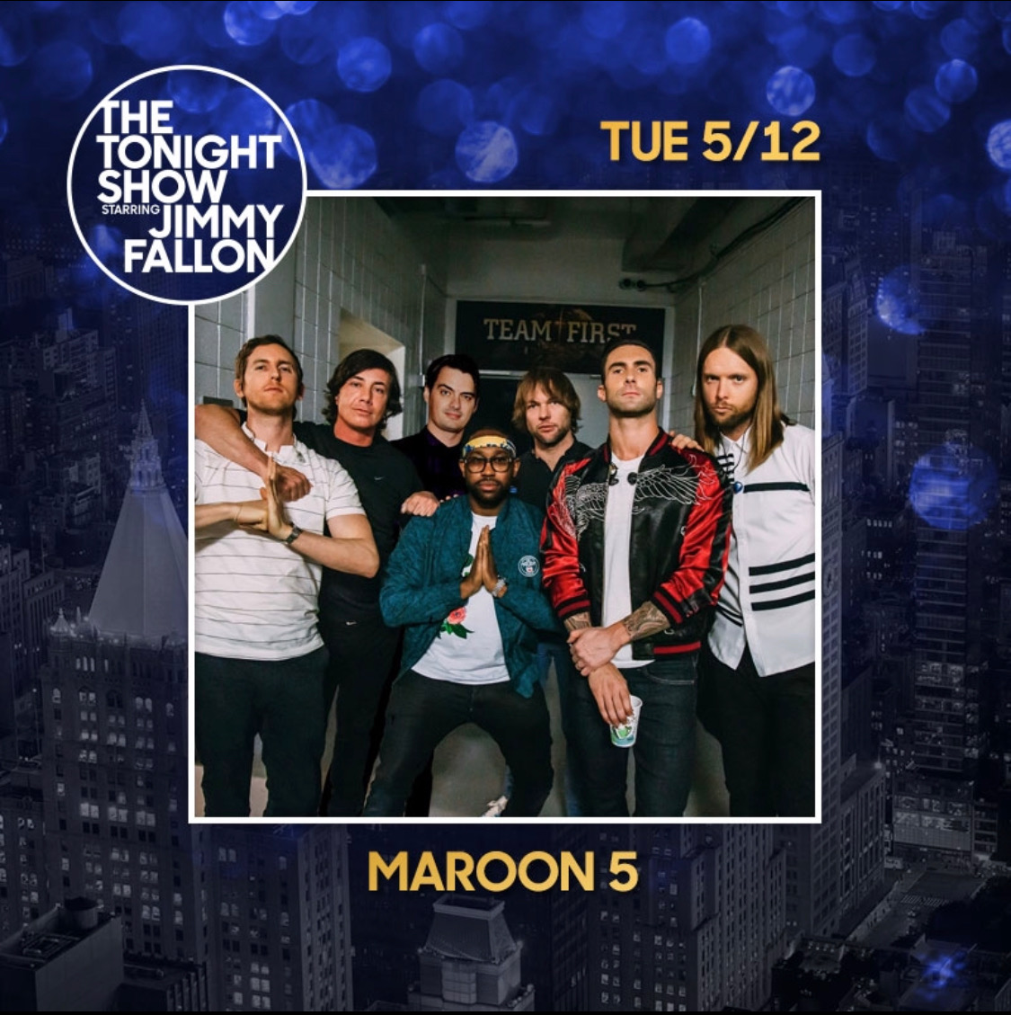 Tune-in to @FallonTonight tomorrow 🔊