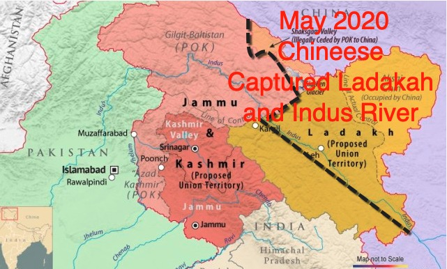Indians fear that China will fully annex the Indus and ladakh river valleys..!  Chinese are already there... and amusing part is that the strategic partner of India, USA is nowhere to be seen to help their ally.. Interesting developments...but we have to remain careful... https://t.co/TAfEBGiRes