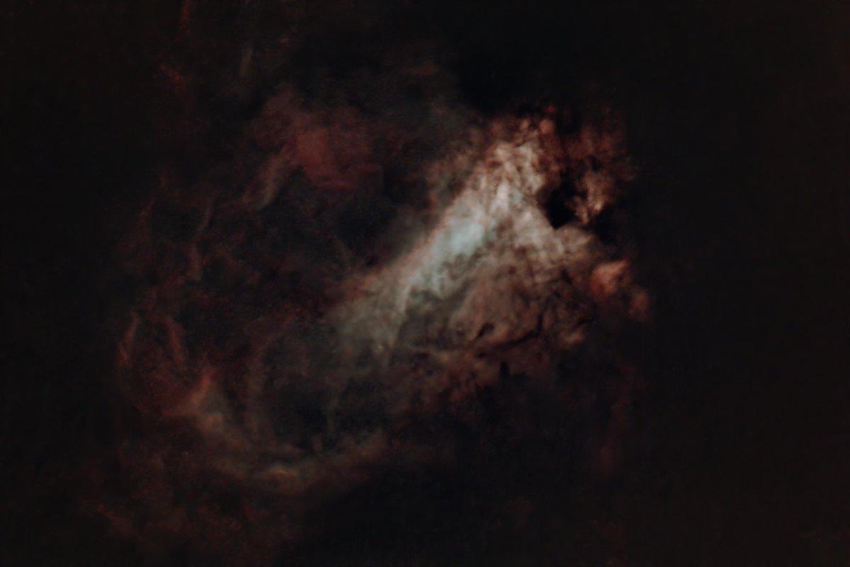 Starless Swan #Nebula