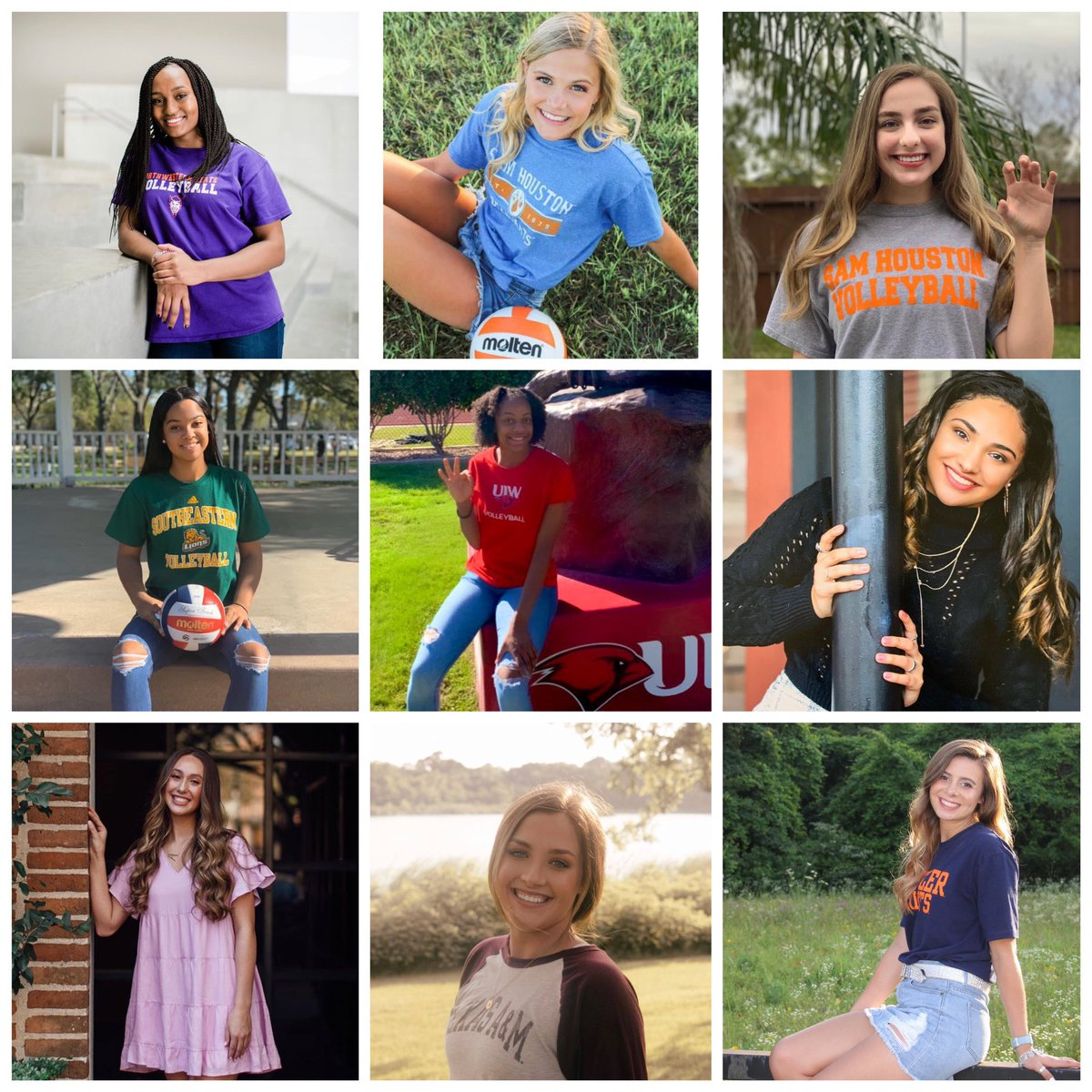 Congratulations to our 2020 Graduates!! We're so proud of all of you and excited for the next step in your journey! 🏐📚💻🎓